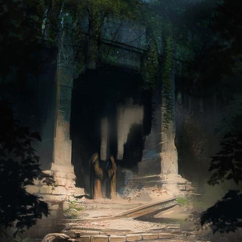 "Druids' Temple by Pierre ""Asahi"" Raveneau"