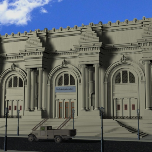 The Metropolitan Museum of New York by Michel Meslet