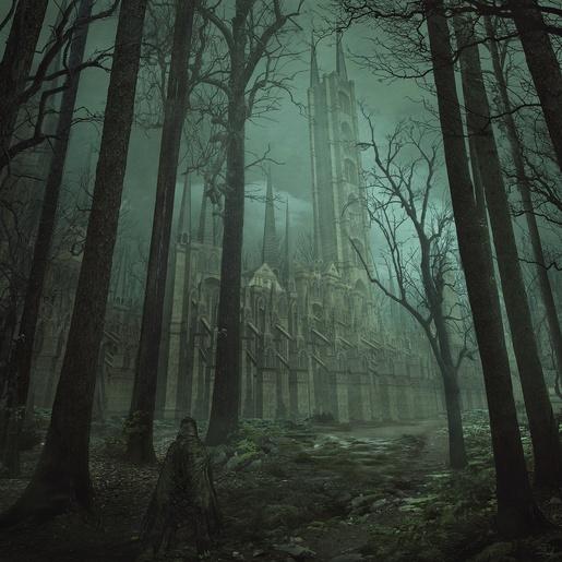 The Castle by Mihail Bila