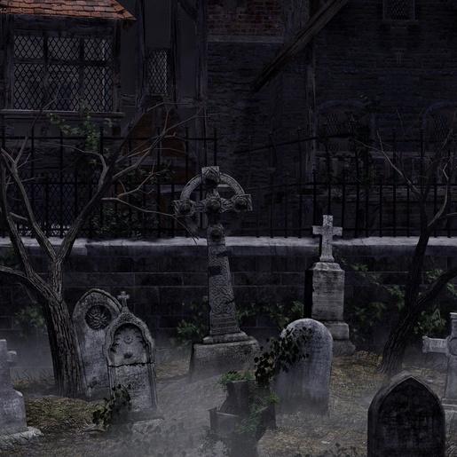 St. John's Hidden Churchyard by Russell Smeaton