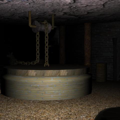 Pickman's Studio Cellar by Michel Meslet