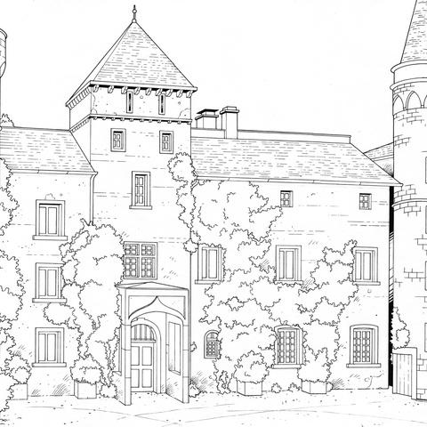 The Jermyn House by Michel Meslet