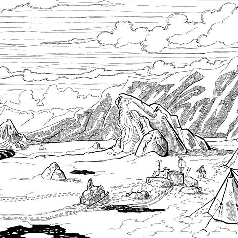Southern Base by Sébastien Abellan