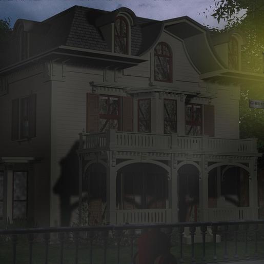 The Tillinghast House by Michel Meslet