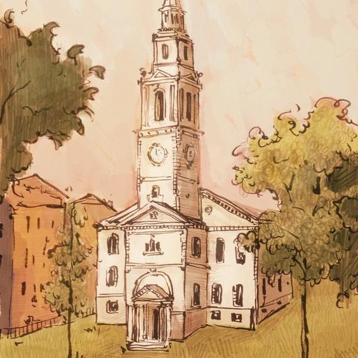 The First Baptist Church by Marisha Lozada