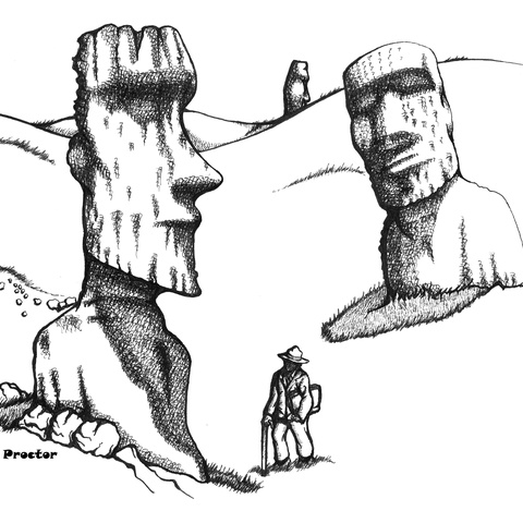 Easter Island by Shawn Proctor