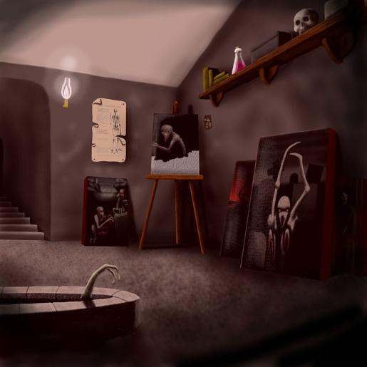 Pickman's Studio by Propraetor