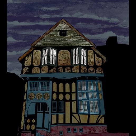 Fleur-de-Lys Building by Ian Richardson